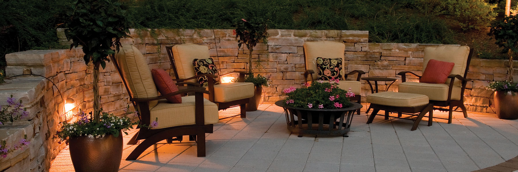 Inviting Patio Lighting