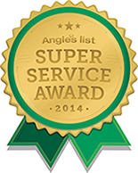 Angie's List Super Service Award 2014 logo